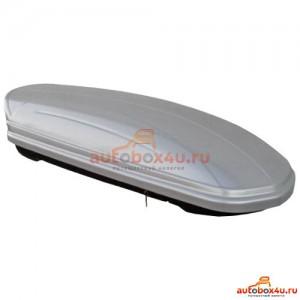Автобокс Menabo Mania 460 DUO серый глянцевый