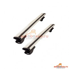 Багажник Thule WingBar на Jeep Grand Cherokee Renegade с 2005 г. на стандартный рейлинг  (крыловидная дуга)