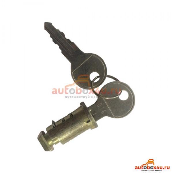Комплект металлических замков Lux (4 личинки + 2 ключа) 843157