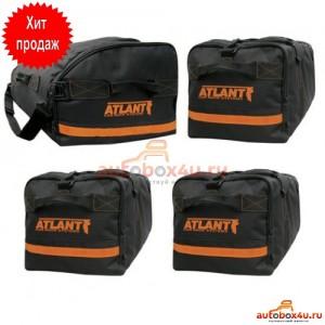 Комплект сумок Атлант для автобокса (1 носовая + 3 основных)