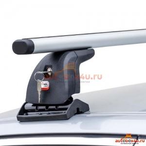 Багажник Amos Beta на Suzuki Grand Vitara с 2005 г. в штатное место (аэродинамическая дуга)