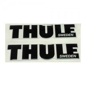 Наклейка на автобоксы Thule (черная)