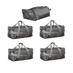 Комплект сумок Евродеталь для автобокса (1 носовая + 4 основных)