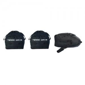 Комплект сумок Terra Drive для автобокса (1 носовая + 2 основных)
