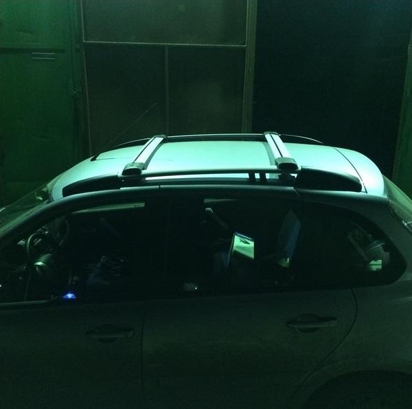 Багажник на стандартные рейлинги